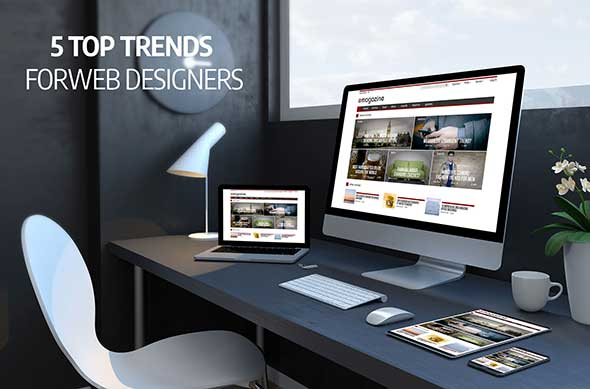 5 Top Trends for Web Designers in London, Ontario