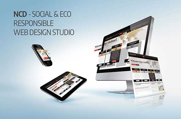 New Concept Design, A Social And Eco Responsible Web Design Company
